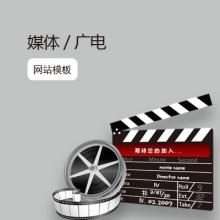 传媒、广电网站模板